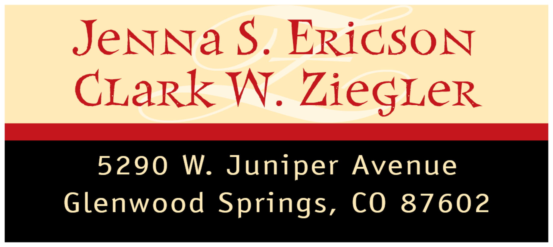 Personalized - designer address labels Great selection and prices ...