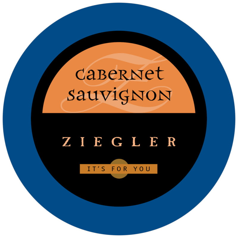 round beer coasters - blue, spice & black - 23rd avenue (set of 12)