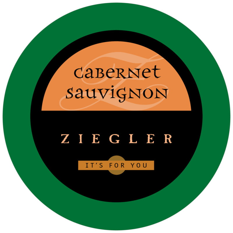 round beer coasters - green, spice & black - 23rd avenue (set of 12)
