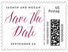 Caprice wedding postage stamps
