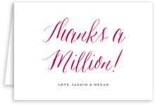 Caprice wedding thank you cards