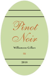 Allegro tall oval labels