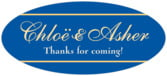 Allegro oval labels