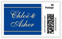 Allegro large postage stamps