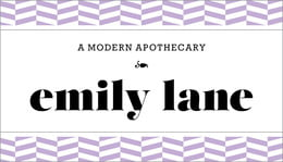 Apothecary Graphic business cards