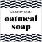 Apothecary Graphic square labels
