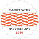 Apothecary Graphic scallop labels