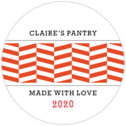 Apothecary Graphic medium round labels