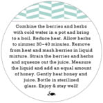 Apothecary Graphic circle text labels