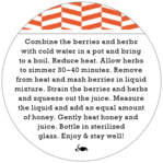 Apothecary Graphic circle text label