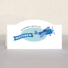 Airplane place cards