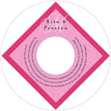 Astor valentine's day CD/DVD labels