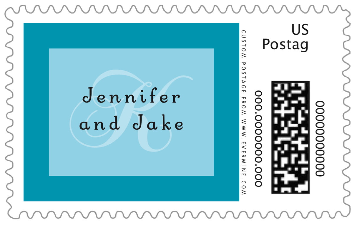 custom large postage stamps - sky - astor (set of 20)