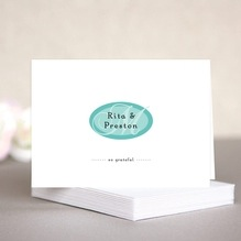 Astor wedding note cards