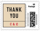 Apothecary Neat custom postage stamps