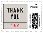Apothecary Neat wedding postage stamps