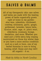 Apothecary Neat text labels