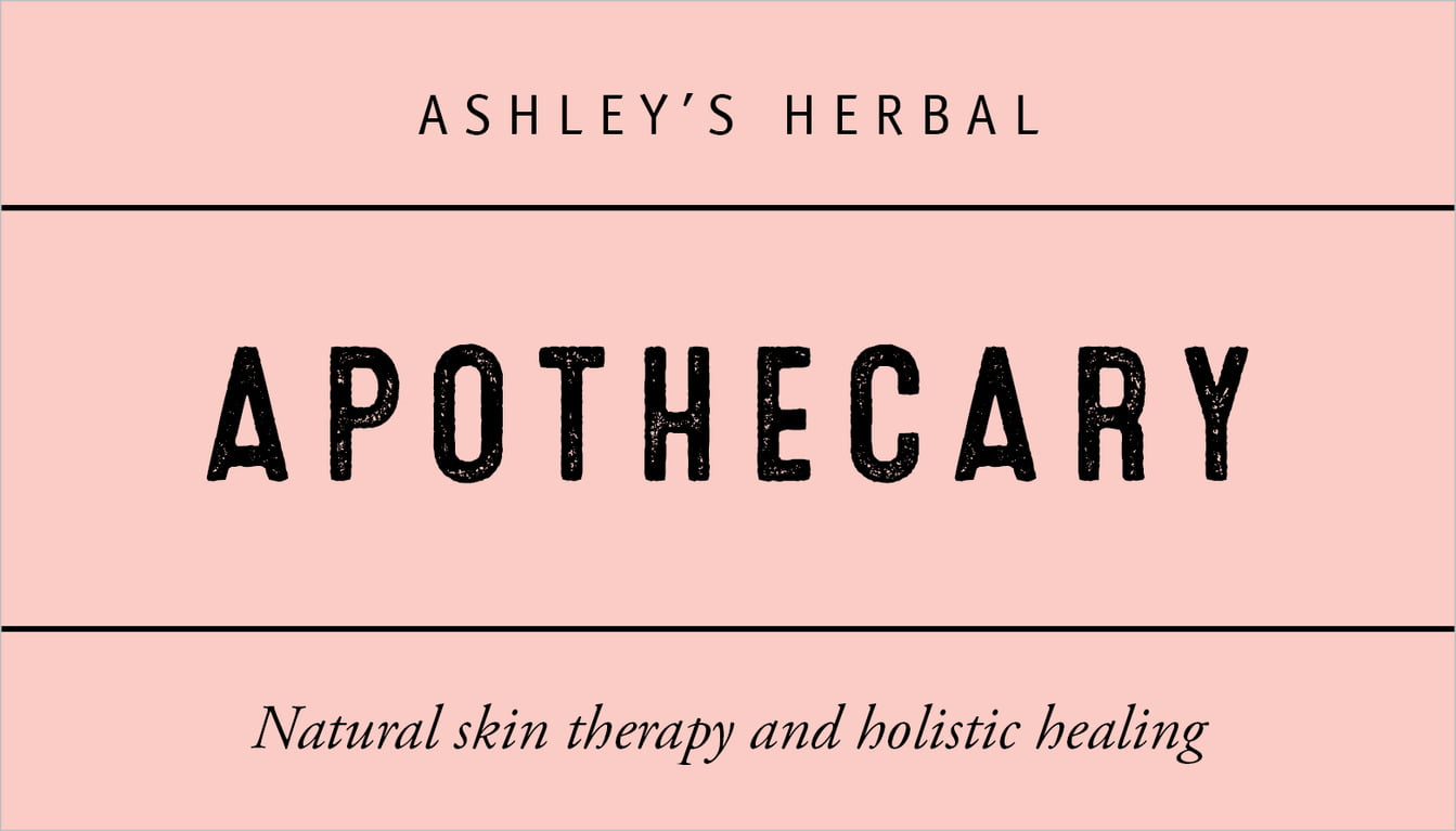custom business cards - rose quartz - apothecary neat (set of 25)