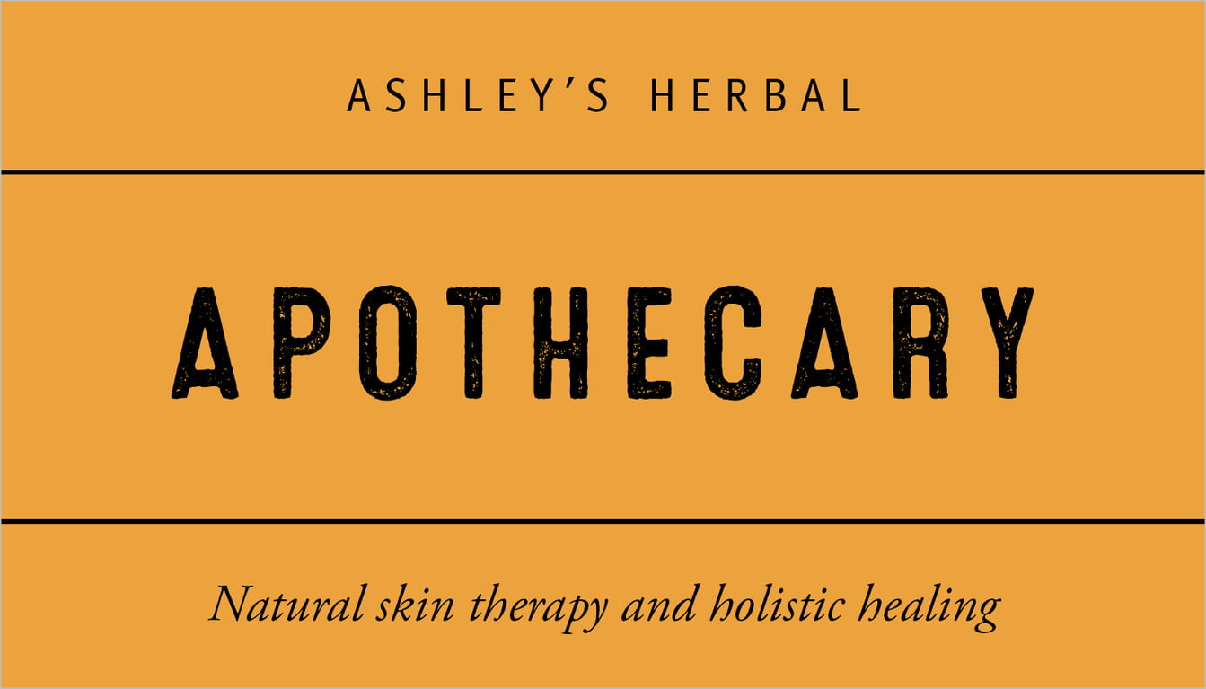 custom business cards - orange - apothecary neat (set of 25)