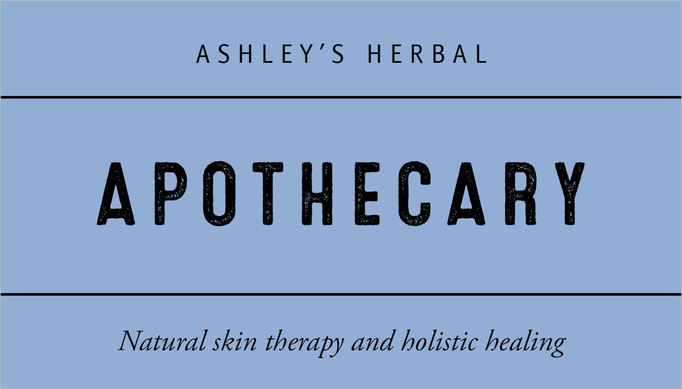 custom business cards - serenity - apothecary neat (set of 25)