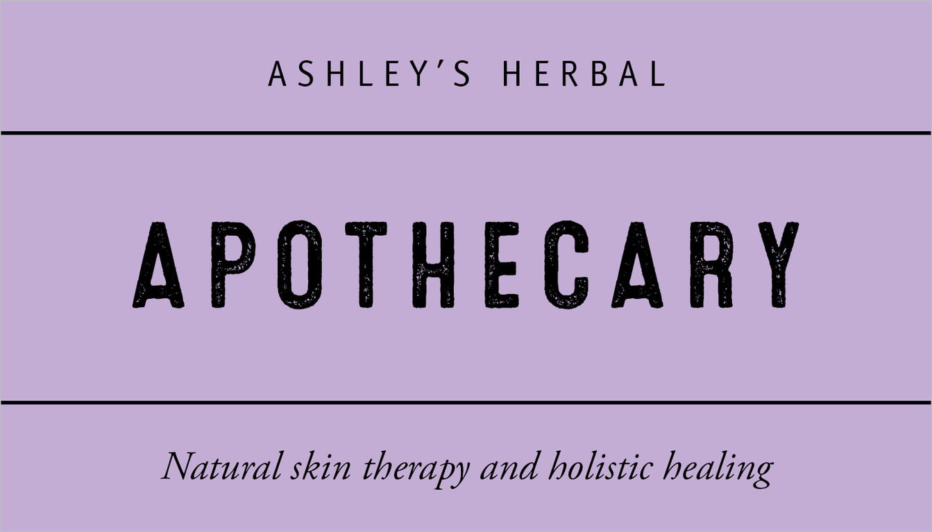 custom business cards - lilac - apothecary neat (set of 25)