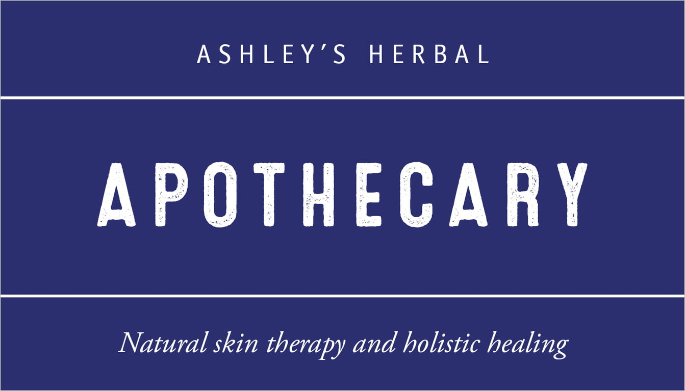 custom business cards - deep blue - apothecary neat (set of 25)