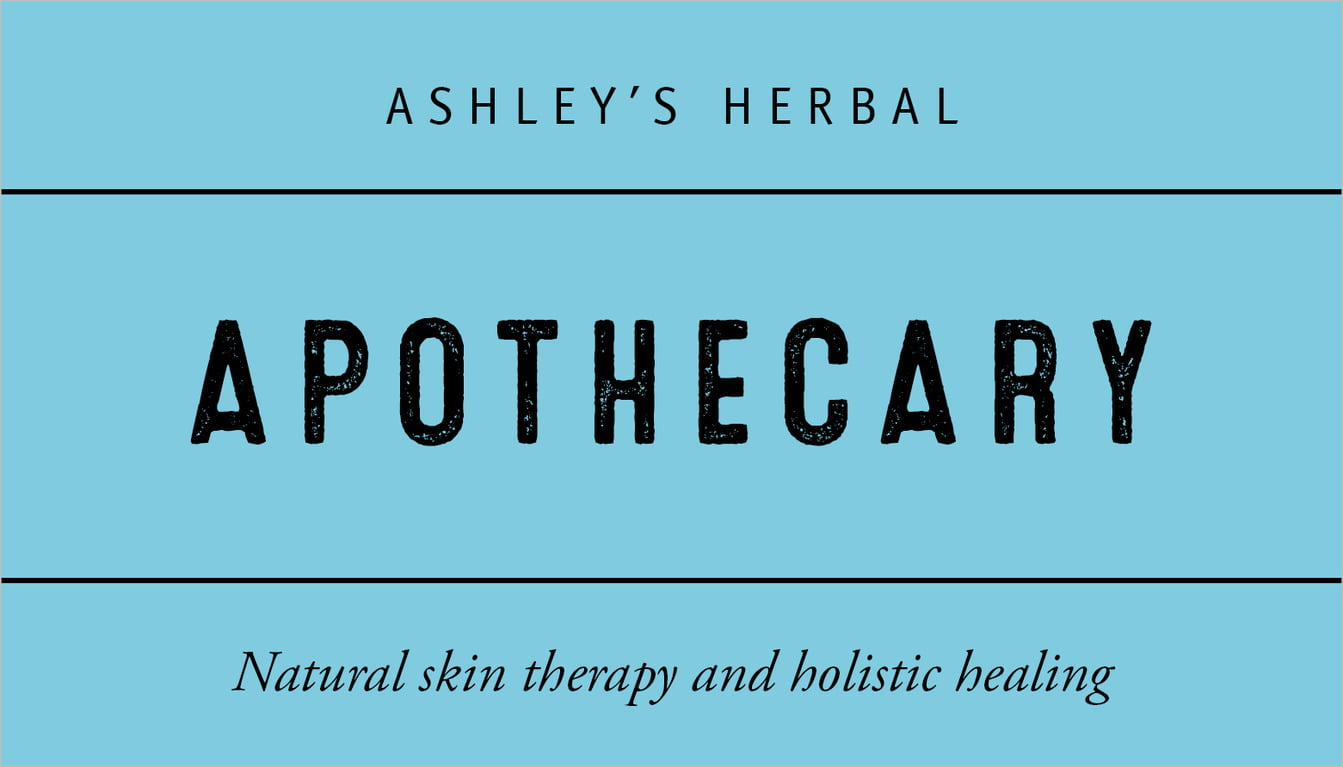 custom business cards - sky - apothecary neat (set of 25)