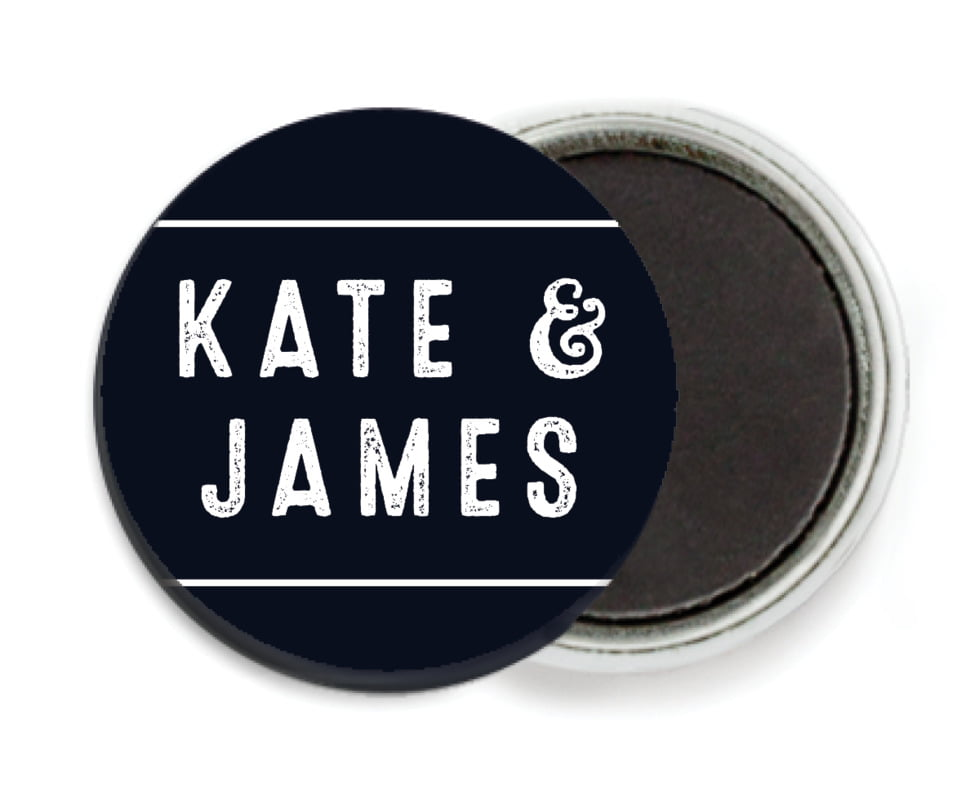 custom button magnets - tuxedo - apothecary neat (set of 6)