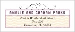 Aunt Lorraine designer address labels