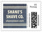 American Vintage business postage stamps