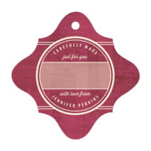 American Vintage fancy diamond gift tags