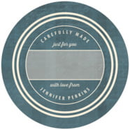 American Vintage large circle gift labels
