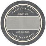 American Vintage small circle gift labels