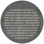 American Vintage circle text labels