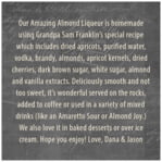 American Vintage square text labels