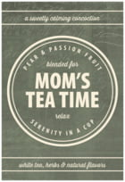 American Vintage mother's day labels