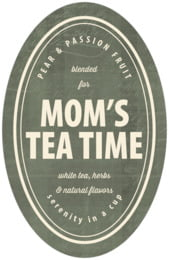 American Vintage tall oval labels