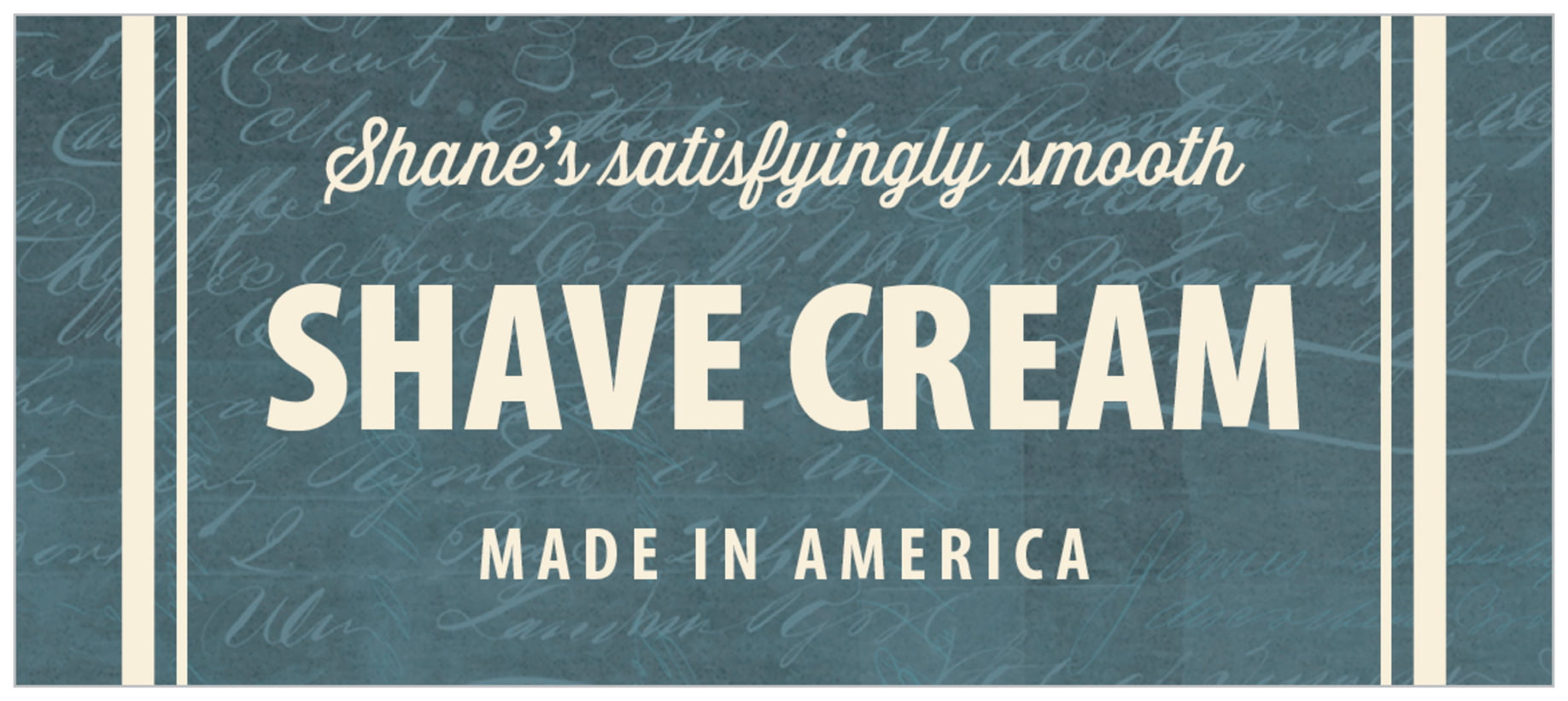 small rectangle food/craft labels - turquoise - american vintage (set of 24)