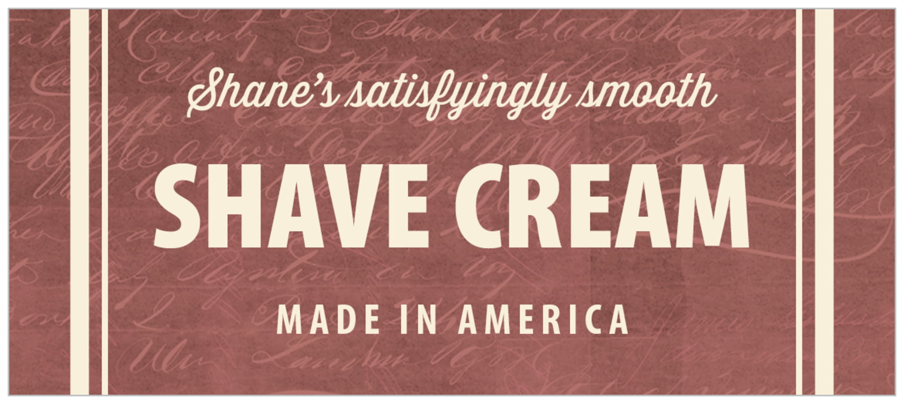 small rectangle food/craft labels - deep red - american vintage (set of 24)
