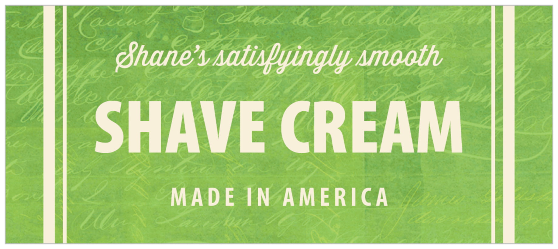 small rectangle food/craft labels - lime - american vintage (set of 24)