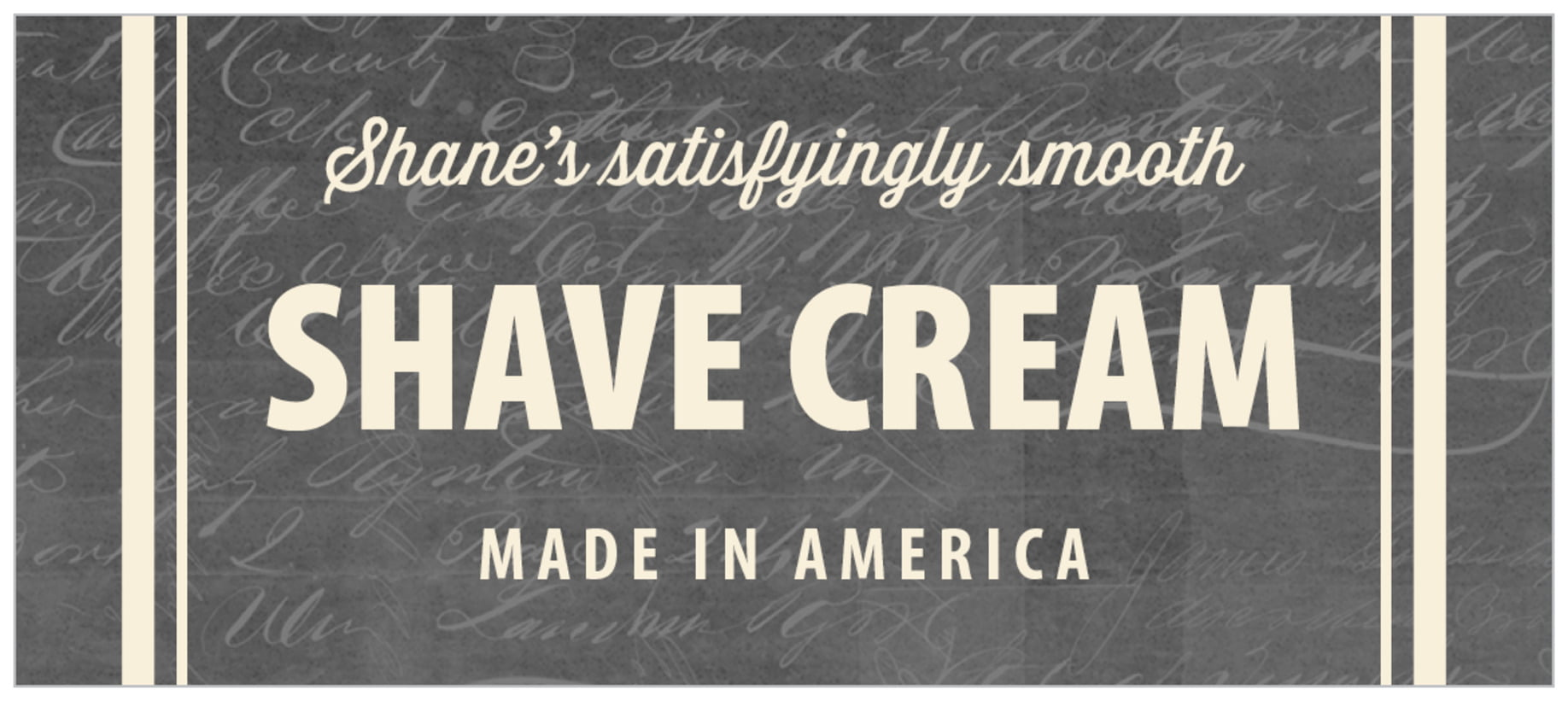 small rectangle food/craft labels - charcoal - american vintage (set of 24)