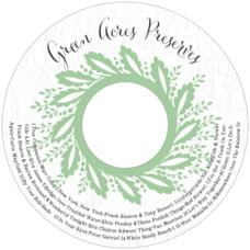 Aurelian Wreath cd labels