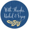 Aurelian Wreath small round labels
