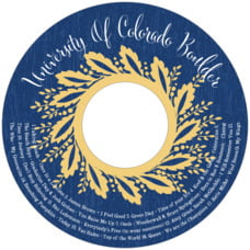 Aurelian Wreath Cd Label In Royal Blue