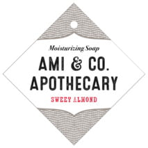 Apothecary Deluxe diamond hang tags