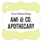 Apothecary Deluxe fancy square tags