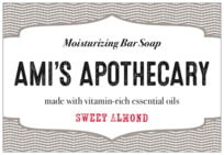 Apothecary Deluxe wide rectangle labels