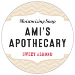 Apothecary Deluxe Circle Label In Cappuccino