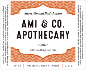 Apothecary Deluxe large wide labels