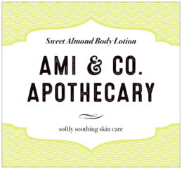 Apothecary Deluxe large rectangle labels